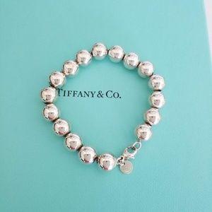 Tiffany & Co Silver Bead Ball Bracelet
